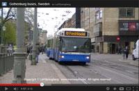 Youtube, Gothenburg buses