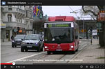 Youtube, Stockholm buses
