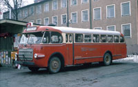 Photos, Swedish buses in the sixties