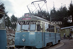 Tramways in Gothenburg 1965 - 1967