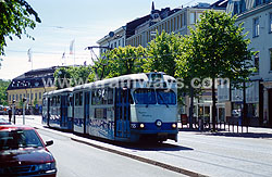 Tramways in Gothenburg 2001
