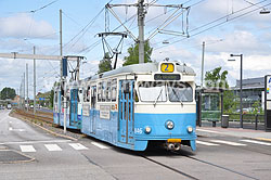 Tramways in Gothenburg 2010